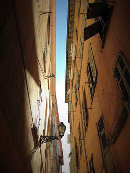 Nice, Old Town, South Of France, Center, Alley, Homes