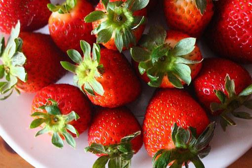 Strawberry, Berry, Fruit, Food, Fresh, Healthy, Sweet