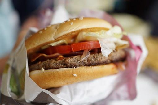 Burger, Delicious Food, Lunch, A Light Lunch