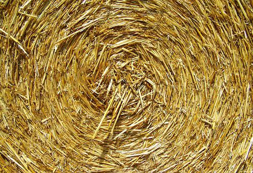 Straw Bale, Compressed Grain Drying, Works