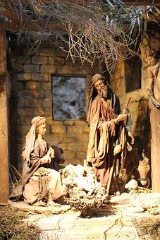 Crib, Jesus, Santon, Nativity Scene, Christmas