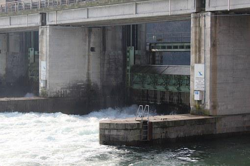 Dam, Water, River, Energy, Hydroelectric