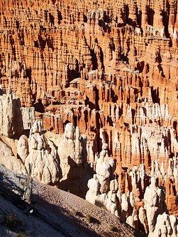 Bryce Canyon National Park, Utah, Usa, Erosion, Desert