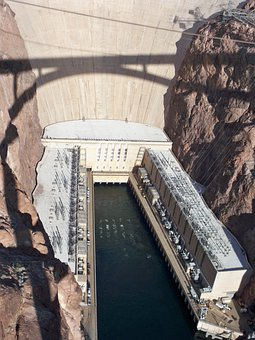 Hoover Dam, Nevada, Colorado River, Bridge, Dam, Hoover