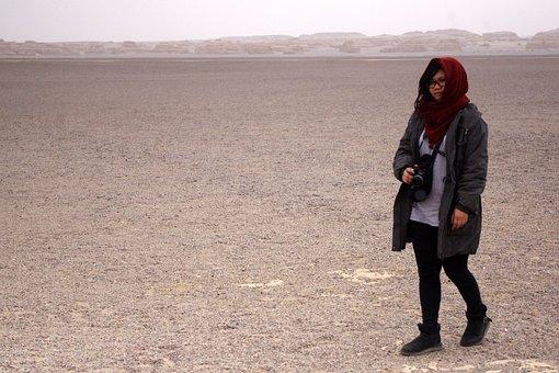 Tourism, Desert, Kaihuo, Landform, Dunhuang, Lonely