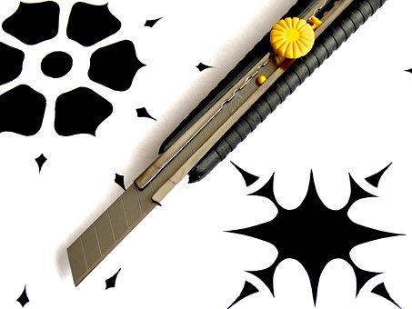 Paper Cut, Knife Cut, Knife, Japan Knife, Schneider
