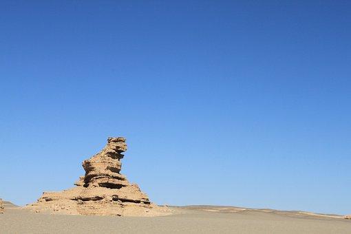 Landform, China, Lion