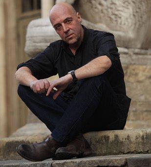 Ade Capone, Writer, Comics, Italian, Man, Male, Person