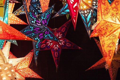 Christmas Market, Light, Lighting, Market