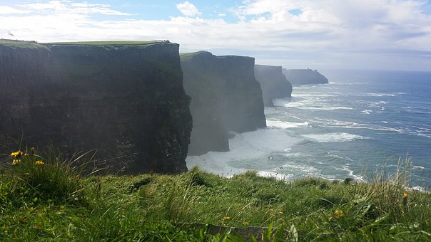 Cliffs Of Moher, Cliffs, Moher, Ireland, Sea, Landscape