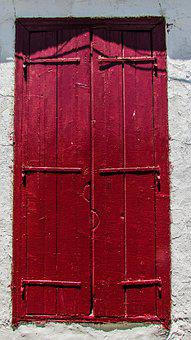 Window, Wooden, Red, House, Old, Architecture, Village