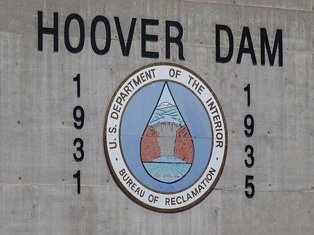 Hoover Dam, Nevada, Power, River, Arizona