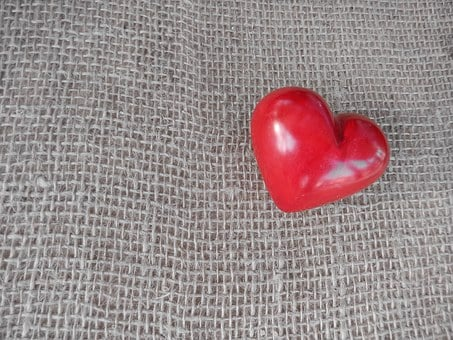 Heart, Love, Background, Luck, Red, Romance