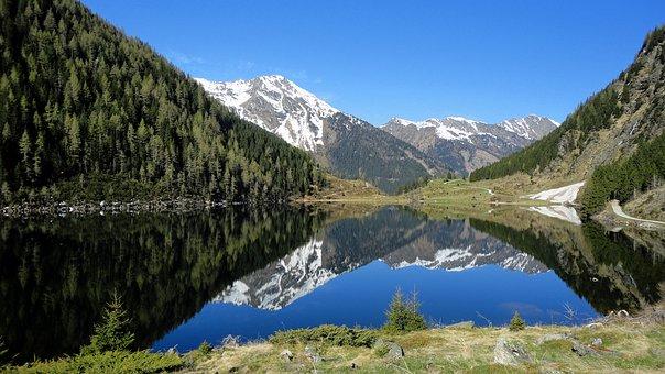 Riesachsee, Bergsee, Spring, Ennstal, Schladming