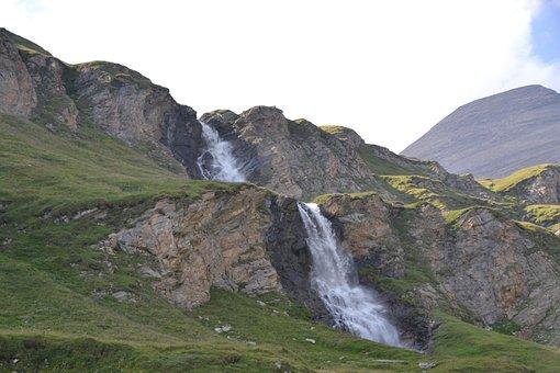 Waterfall, Carinthia, Tauern, Alpine