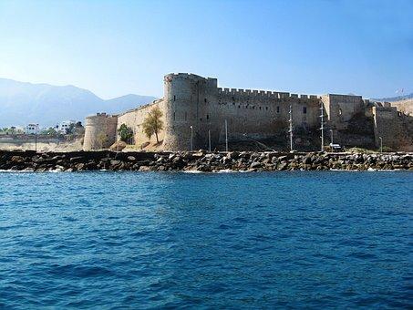 Kyrenia, Castle, Cyprus, Travel, Mediterranean, Fort