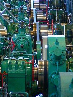 Turbine, Turbines, Hydroelectric Power Station
