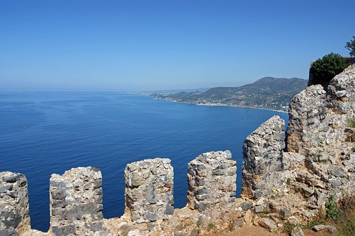 Alanya, Castle, Sea, Holiday, Turkish Riviera, View