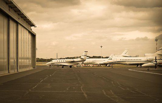 Airport, Aircraft, Field, Flying, Turbine, Transport