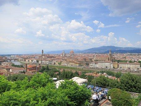 Florence, Famous, Italy, Europe, Tuscany, Architecture
