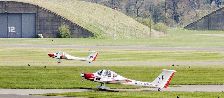 Aircraft, Cadet Trainer, Airfield, Take Off