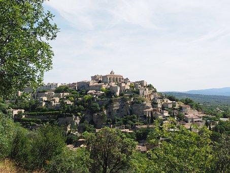 Gordes, Village, Château De Gordes, Saint-firmin