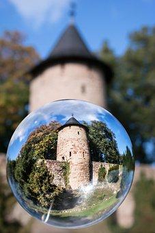 Glass Ball, City Wall, Watchtower, Wernigerode, Tower