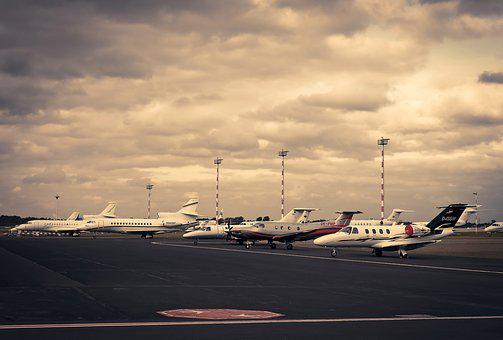 Airport, Aircraft, Field, Flying, Turbine, Transport