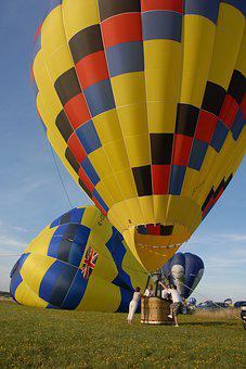 Hot-air Ballooning, Ball, Flight, Air, Color
