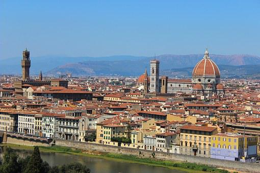 Florence, Tuscany, Italy, Dome, Duomo, Monument