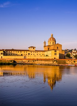 Florence, Church, Tuscany, Monument, River Arno