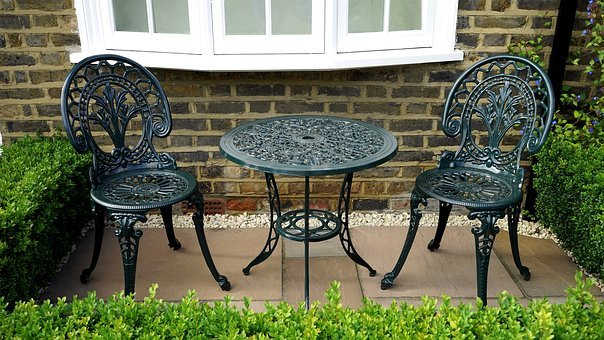 Garden, Chairs, Summer, Outdoor, Furniture, Green