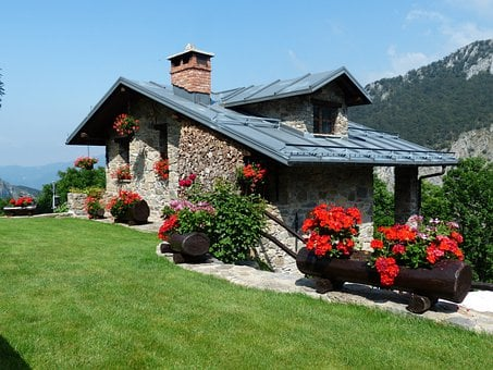Holiday House, Summer House, House, Country House