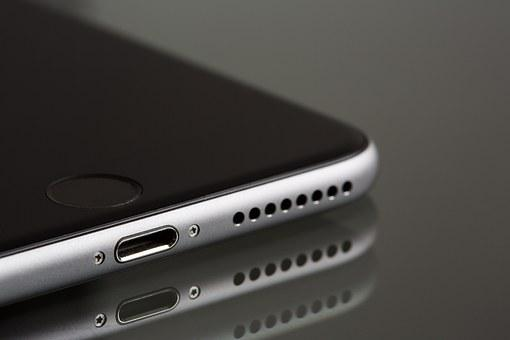 Apple, Iphone, Smartphone, Lightning Connector