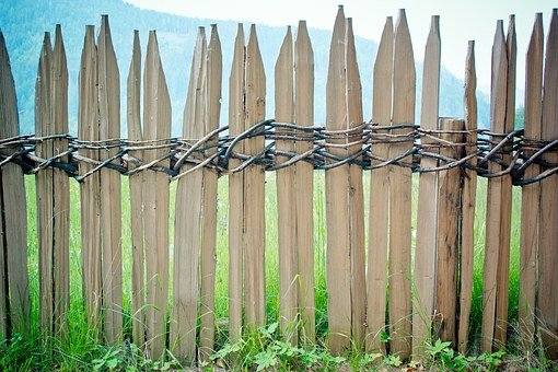 Fence, Wood Fence, Battens, Paling, Limit, Border