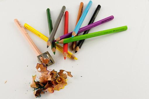 Color, Pens, Colorful, Colored Pencils, Pointed