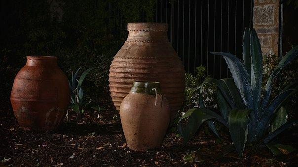 Flower Beds, Pots, Antiques, Bed, Plant, Flower, Garden
