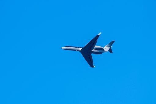 Private Jet, Plane, Utair Aviation, Utair, Sky