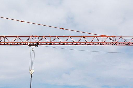 Crane, Baukran, Scaffold, Site, Technology