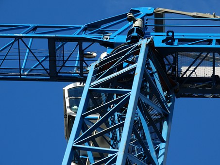 Crane, Load Crane, Skyward, In The Height, Sky, Baukran