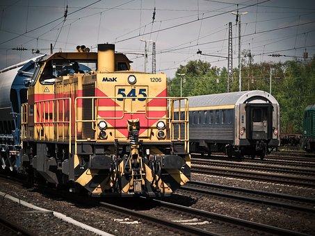 Locomotive, Train, Railway, Loco, Seemed, Transport