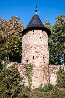 City Wall, Watchtower, Wernigerode, Tower