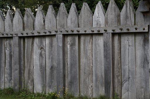 Palisade, Fence, Boards, Fence Slats, Wood Fence