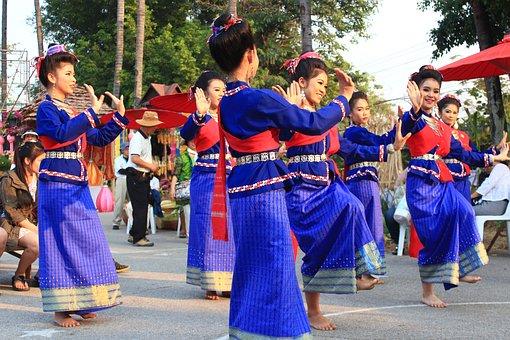 Thailand, Dance, Traditional, Thai, Asia, Culture, Girl