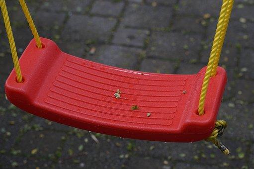 Swing, Seesaw, Seat, Rock, Child, Children, Fun, Play