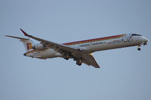 Aviation, Aircraft, Traveling, Crj 900 Regional Iberia