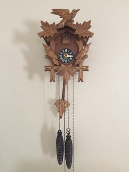 Clock, Wall, Time Clock, Vintage, Time, Cuckoo