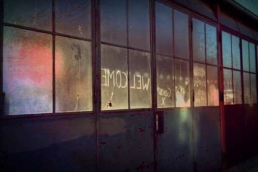 Goal, Leave, Lapsed, Glass Window, Broken, Damaged