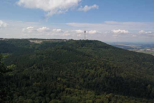 Plettenberg, Radio Tower, Viewpoint, Distant View