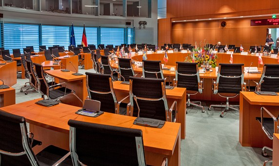 Federal Chancellery, Conference Room, Policy, Summit